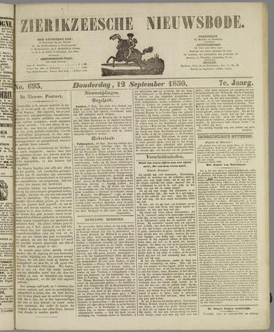 Zierikzeesche Nieuwsbode 1850-09-12