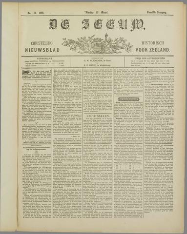 De Zeeuw. Christelijk-historisch nieuwsblad voor Zeeland 1898-03-15