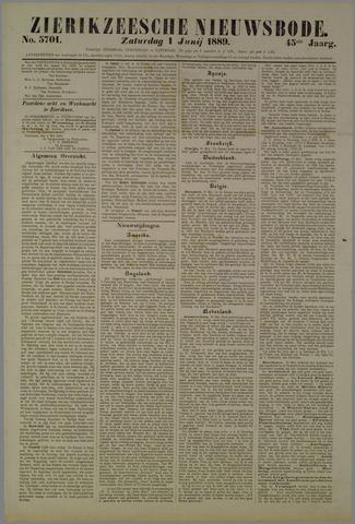 Zierikzeesche Nieuwsbode 1889-06-01