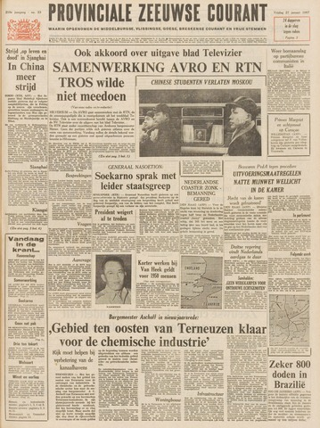 Provinciale Zeeuwse Courant 1967-01-27