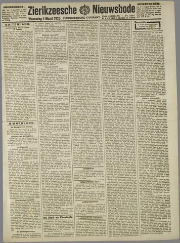 Zierikzeesche Nieuwsbode 1925-03-04