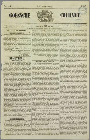 Goessche Courant 1857-06-29