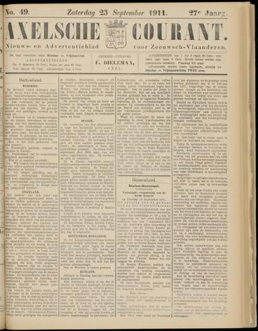 Axelsche Courant 1911-09-23