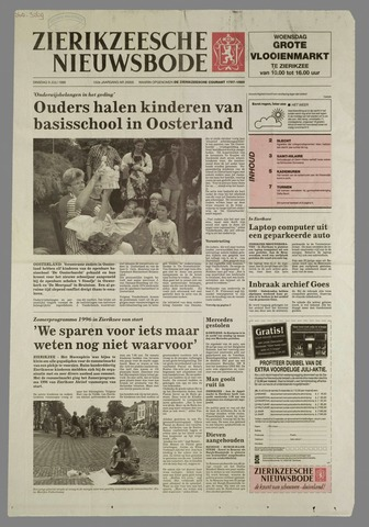 Zierikzeesche Nieuwsbode 1996-07-09