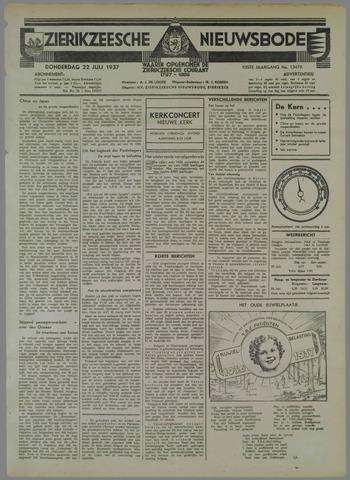 Zierikzeesche Nieuwsbode 1937-07-22