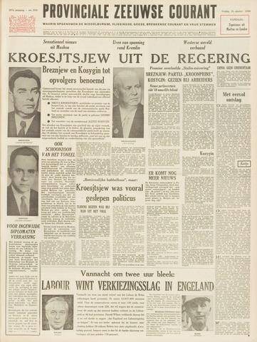 Provinciale Zeeuwse Courant 1964-10-16