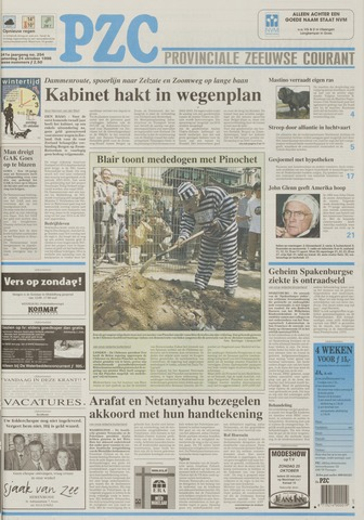 Provinciale Zeeuwse Courant 1998-10-24