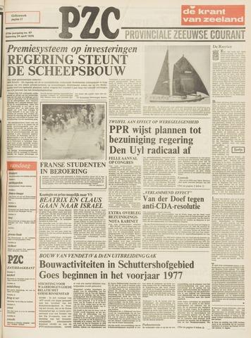 Provinciale Zeeuwse Courant 1976-04-24
