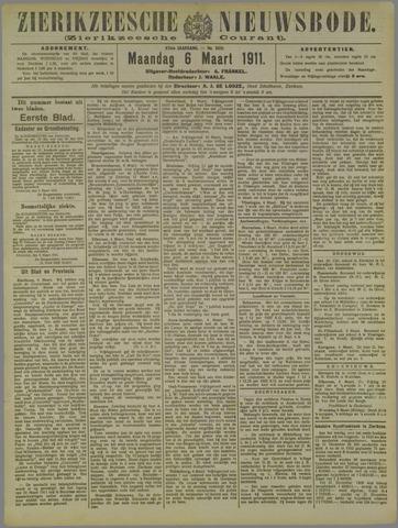 Zierikzeesche Nieuwsbode 1911-03-06