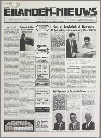Eilanden-nieuws. Christelijk streekblad op gereformeerde grondslag 1989-02-17