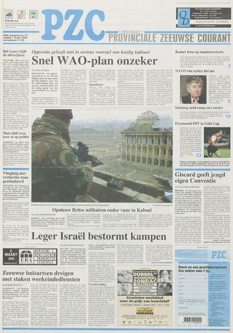 Provinciale Zeeuwse Courant 2002-03-01