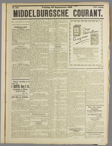 Middelburgsche Courant 1927-09-30