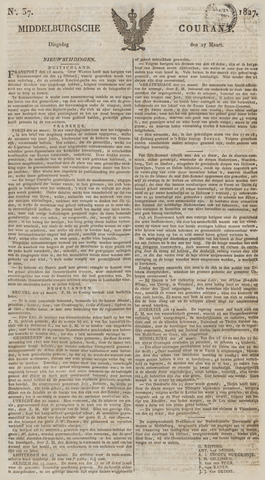 Middelburgsche Courant 1827-03-27