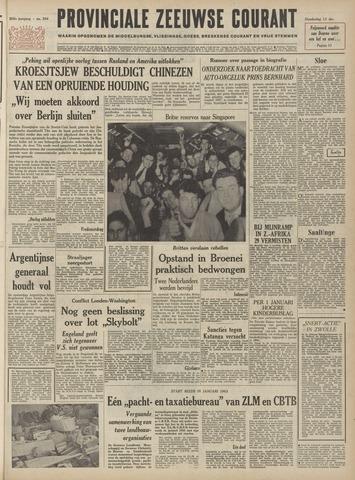 Provinciale Zeeuwse Courant 1962-12-13