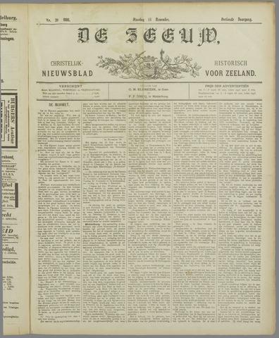 De Zeeuw. Christelijk-historisch nieuwsblad voor Zeeland 1898-11-15