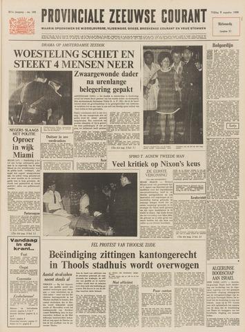 Provinciale Zeeuwse Courant 1968-08-09