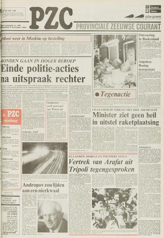 Provinciale Zeeuwse Courant 1983-11-09