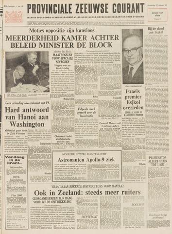 Provinciale Zeeuwse Courant 1969-02-27