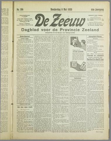 De Zeeuw. Christelijk-historisch nieuwsblad voor Zeeland 1930-05-08