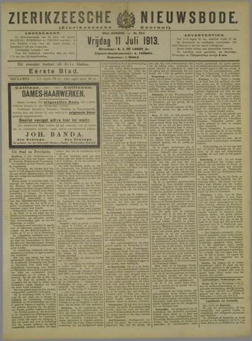 Zierikzeesche Nieuwsbode 1913-07-11