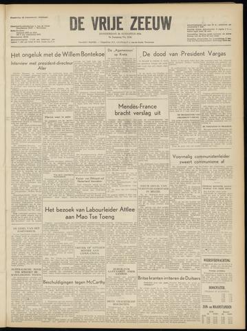 de Vrije Zeeuw 1954-08-26