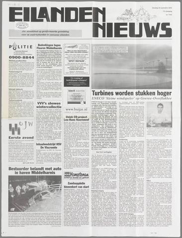 Eilanden-nieuws. Christelijk streekblad op gereformeerde grondslag 2004-09-28