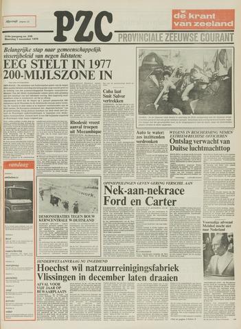 Provinciale Zeeuwse Courant 1976-11-01