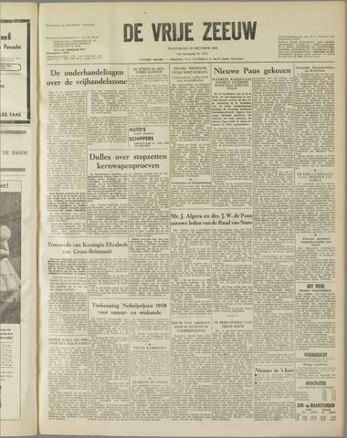 de Vrije Zeeuw 1958-10-29