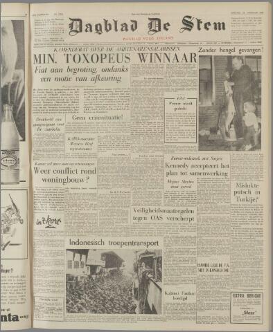 de Stem 1962-02-23
