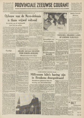 Provinciale Zeeuwse Courant 1953-12-12