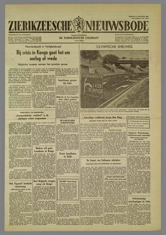 Zierikzeesche Nieuwsbode 1960-08-09