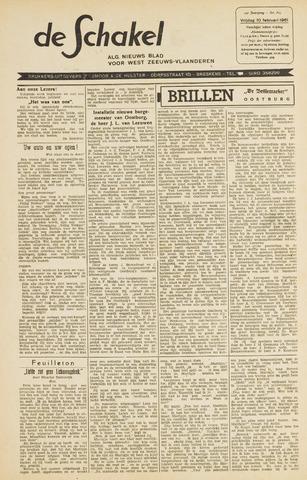 De Schakel 1961-02-10
