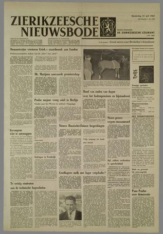 Zierikzeesche Nieuwsbode 1963-07-11