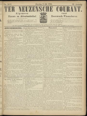 Ter Neuzensche Courant. Algemeen Nieuws- en Advertentieblad voor Zeeuwsch-Vlaanderen / Neuzensche Courant ... (idem) / (Algemeen) nieuws en advertentieblad voor Zeeuwsch-Vlaanderen 1895-07-06