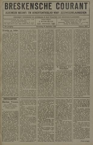 Breskensche Courant 1923-09-26