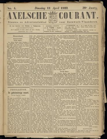 Axelsche Courant 1922-04-11