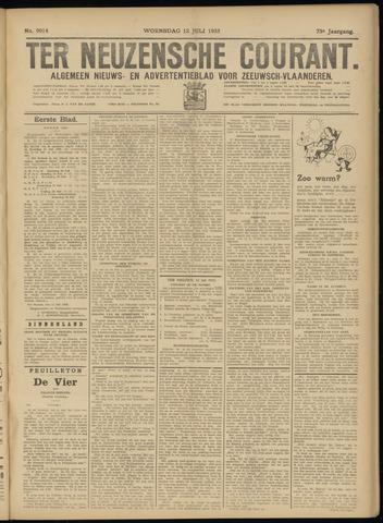 Ter Neuzensche Courant. Algemeen Nieuws- en Advertentieblad voor Zeeuwsch-Vlaanderen / Neuzensche Courant ... (idem) / (Algemeen) nieuws en advertentieblad voor Zeeuwsch-Vlaanderen 1933-07-12