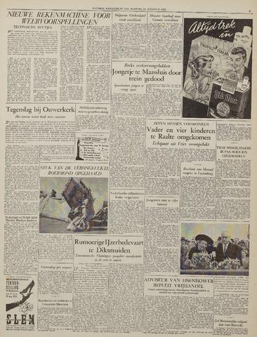 Watersnood documentatie 1953 - kranten 1953-08-24