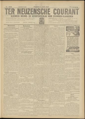 Ter Neuzensche Courant. Algemeen Nieuws- en Advertentieblad voor Zeeuwsch-Vlaanderen / Neuzensche Courant ... (idem) / (Algemeen) nieuws en advertentieblad voor Zeeuwsch-Vlaanderen 1937-06-11