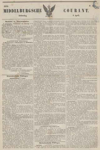 Middelburgsche Courant 1852-04-03