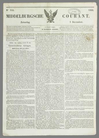 Middelburgsche Courant 1860-12-01