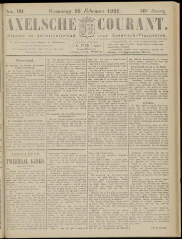 Axelsche Courant 1921-02-16
