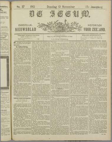 De Zeeuw. Christelijk-historisch nieuwsblad voor Zeeland 1912-11-12