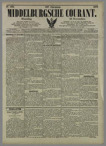 Middelburgsche Courant 1893-11-13