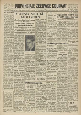 Provinciale Zeeuwse Courant 1947-12-31