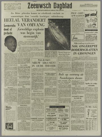 Zeeuwsch Dagblad 1961-02-11