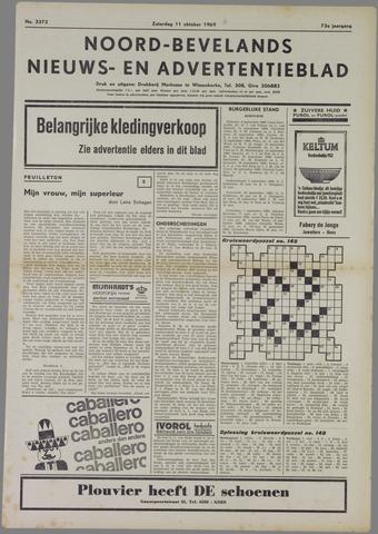 Noord-Bevelands Nieuws- en advertentieblad 1969-10-11