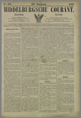 Middelburgsche Courant 1888-07-14
