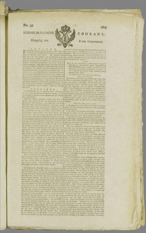 Middelburgsche Courant 1809-08-08