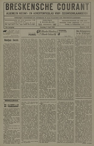 Breskensche Courant 1925-04-11